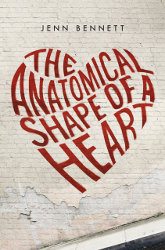 THE ANATOMICAL SHAPE OF A HEART by Jenn Bennnett